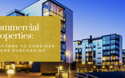 Commercial Properties: 3 Factors To Consider Before Purchasing
